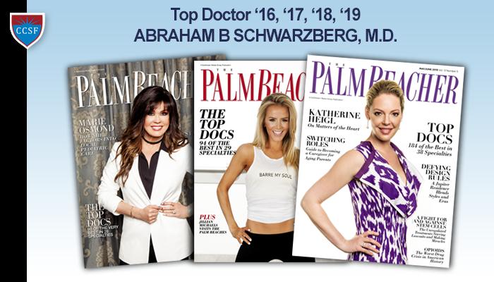 Top Doctor '16, '17, '18, '19 – ABRAHAM B SCHWARZBERG, M.D.